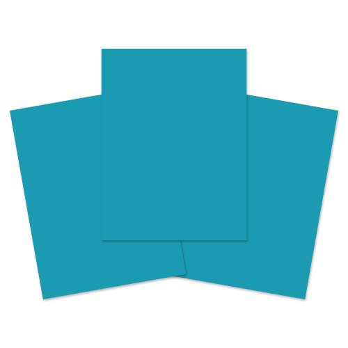 School Exercise Book A4+ 40 Pages Top Plain Bottom 12mm Ruled Light Blue [Pack 100]