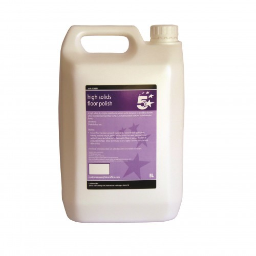 School Floor Polish 5 Litre [Pack 1]
