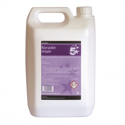School Floor Polish Stripper 5 Litre [Pack 1]