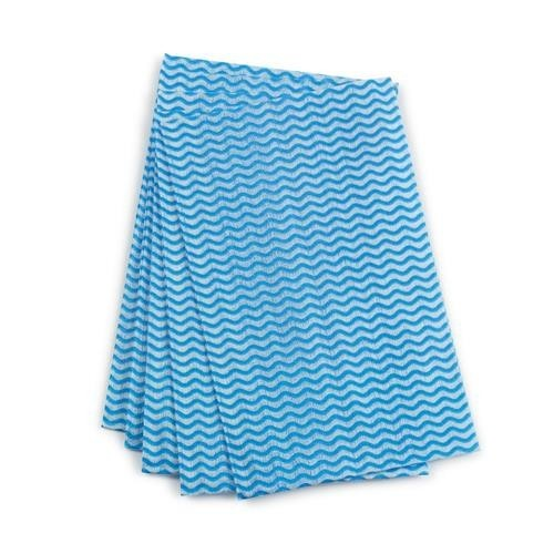 School All-purpose Cleaning Cloths Blue [Pack 50]