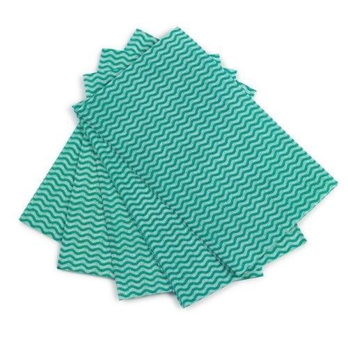 School All-purpose Cleaning Cloths Green [Pack 50]