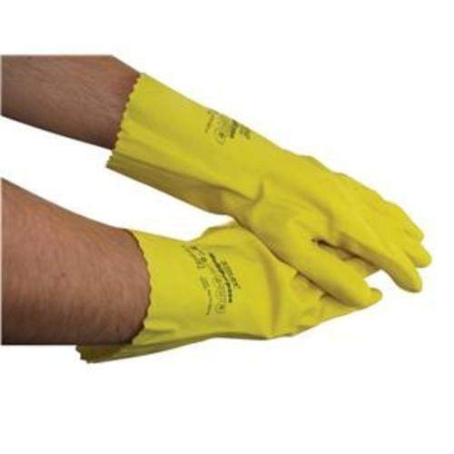 School Rubber Gloves Medium Yellow [1 Pair]