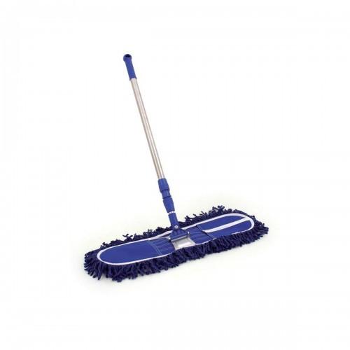 School Sweeper Brush Telescopic Handle 60cm Head [Pack 1]