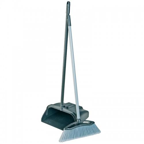 School Upright Lobby Dustpan & Brush [Pack 1]