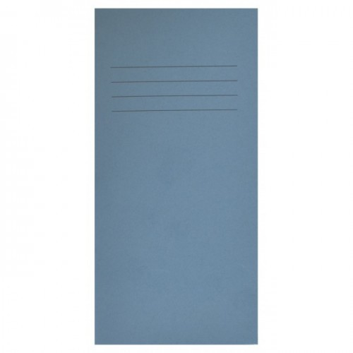 School Exercise Book 8x4 32 Pages 8mm Ruled Light Blue [Pack 100]