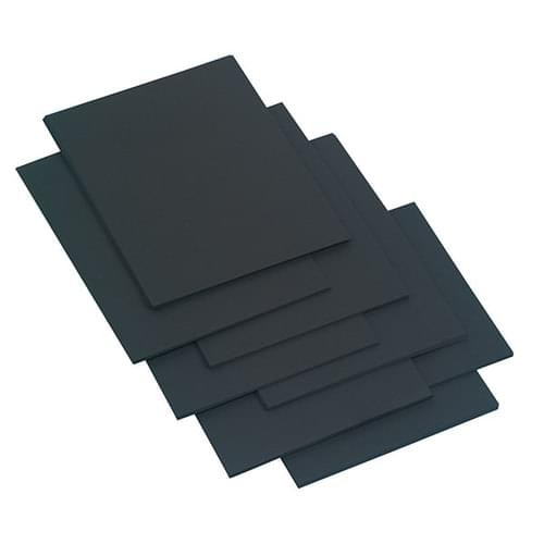 School Card A4 Black 200gsm 100 Sheets [Pack 1]