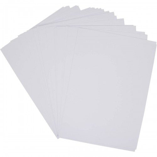 School Card A4 White 200gsm 100 Sheets [Pack 1]