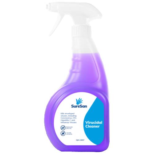 School Antibacterial Virucidal Surface Spray 750ml [Pack 1]