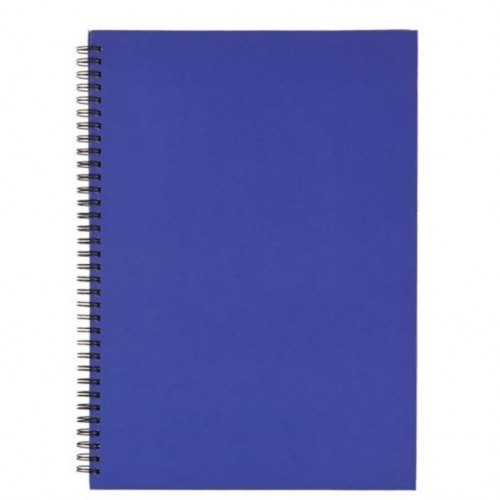 School Notebook Hardback Wirebound A4 Ruled [Pack 5]
