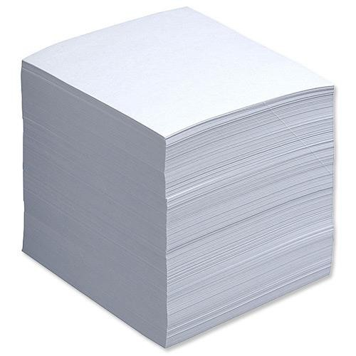 School Noteholder Refill 750 Sheets 90x90mm Paper [Pack 1]