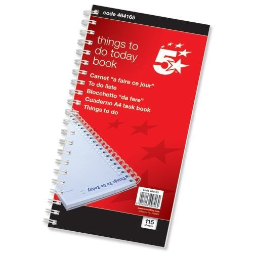 School Things To Do Today Book 280x152mm [Pack 1]