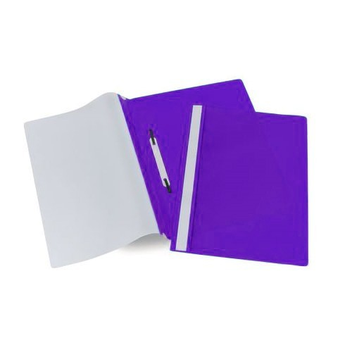 School Project/Report File A4 Purple [Pack 25]