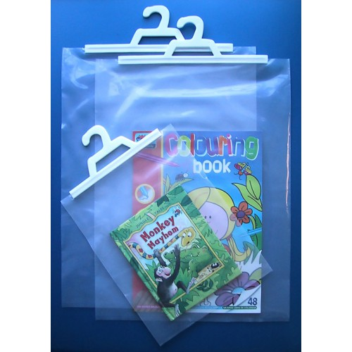 School Hanging Book Bags 310x410mm [Pack 10]