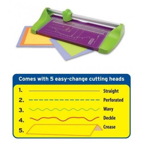 School 5-in-1 Creative Paper Cutter A4 330mm [Pack 1]