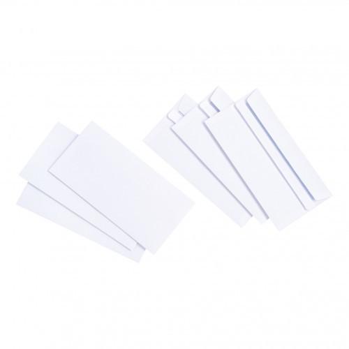 School Envelopes Press Seal 90gsm DL White [Pack 1000]