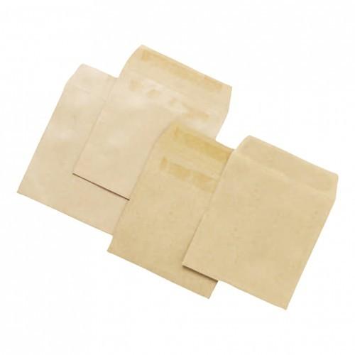 School Envelopes Press Seal Manilla 108x102mm [Pack 1000]