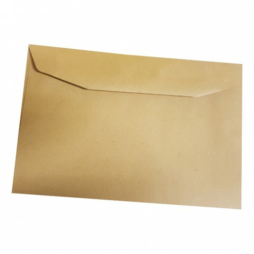 School Envelopes Gummed 75gsm C6 Manilla [Pack 2000]