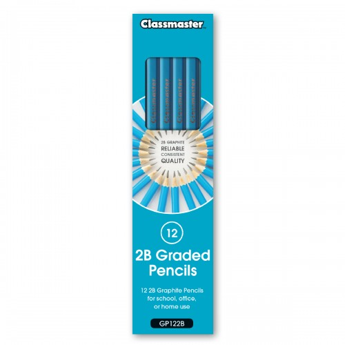 School Pencils 2B [Pack 12]