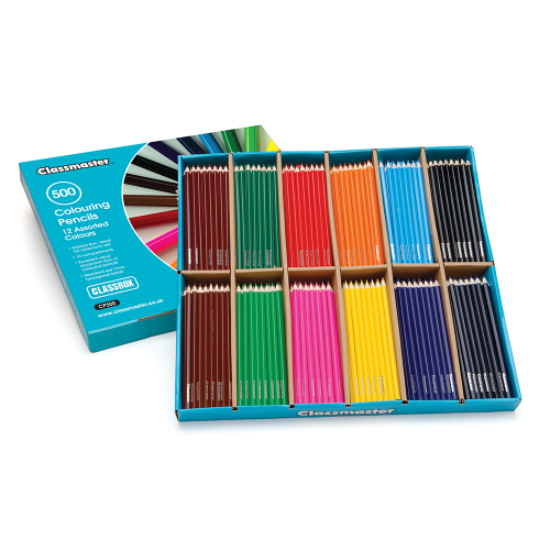 School Colouring Pencils Assorted [Pack 500]