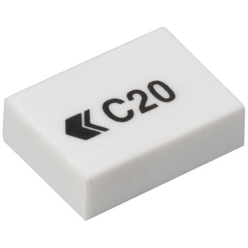 School White Eraser 33x23x10mm [Pack 45]