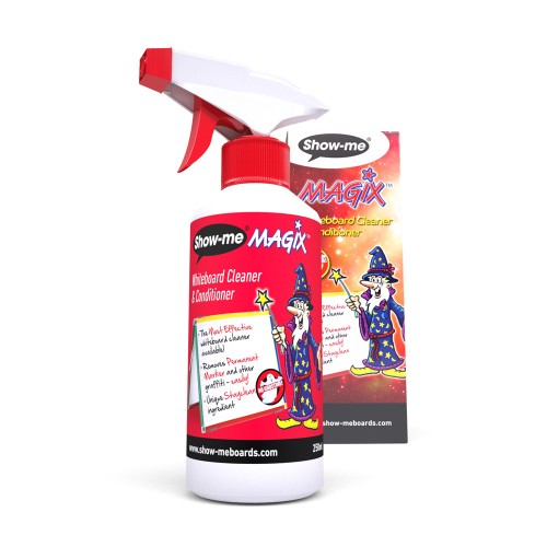 School Drywipe High Quality Board Cleaner & Conditioner 250ml [Pack 1]