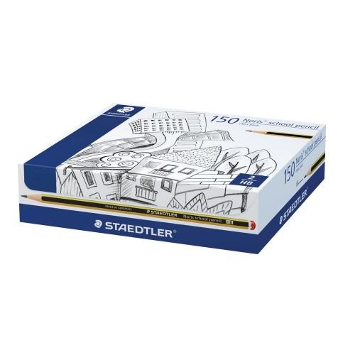 School Pencils HB Staedtler Noris [Pack 150]