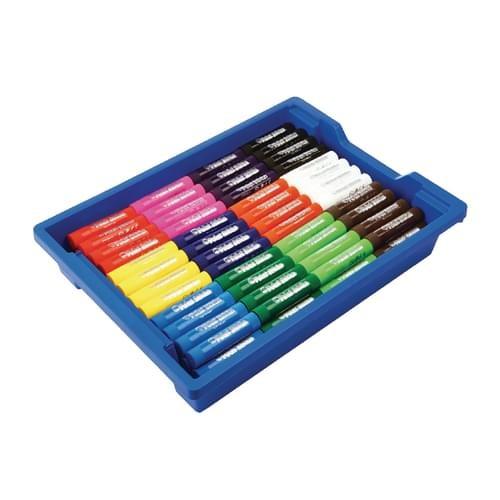School Paint Sticks 12 Assorted Colours [Pack 144]