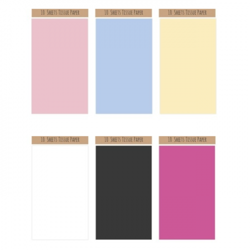 School Tissue Paper 500x680mm Assorted Colours [Pack 60]