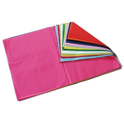 School Tissue Paper 520x760mm Assorted Colours [Pack 480]