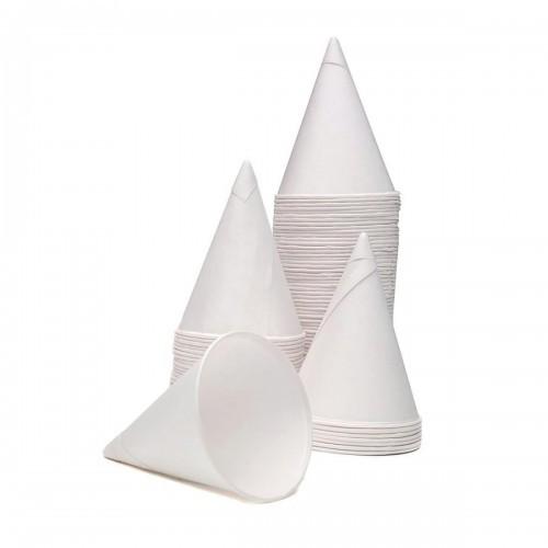 School Craft Cones White Paper 70mm(d) x 90mm(h) [Pack 200]