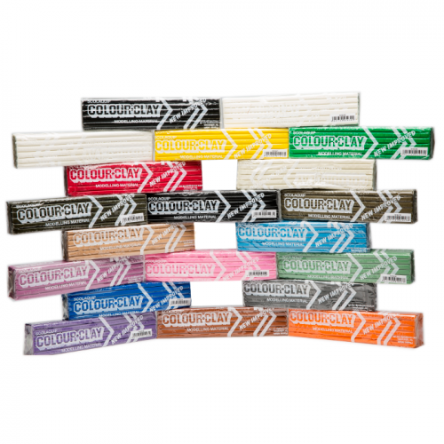 School Modelling Material Assorted Colours 20 Bars [10kg]