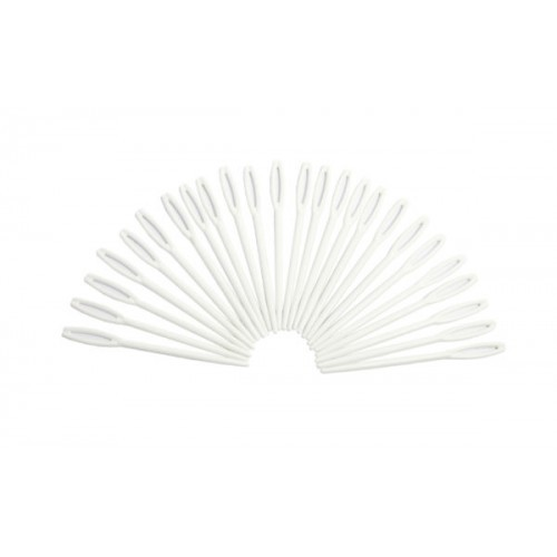 School Plastic Needles [Pack 25]