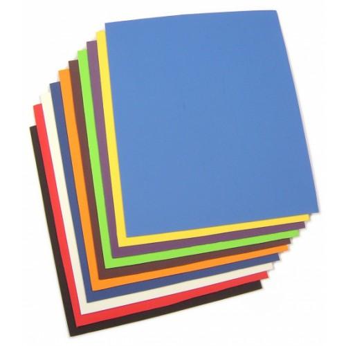 School Neoprene Sheets Assorted 250x300x2mm [Pack 10]
