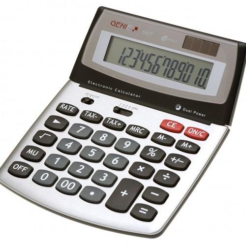 School Calculator Desktop Flip-top 12 Digit [Pack 1]