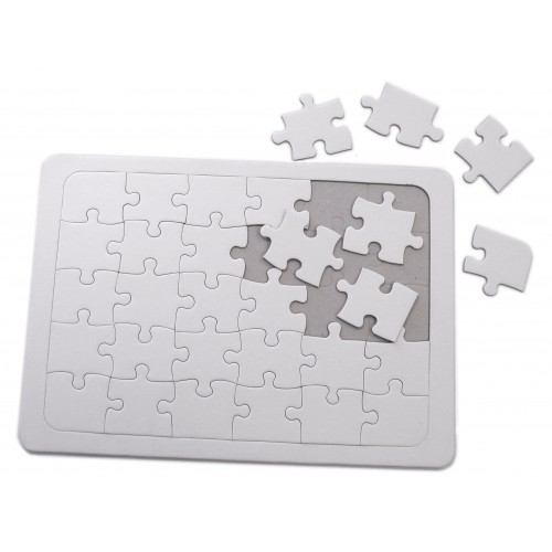 School Jigsaw Puzzle Blank 300x210mm [Pack 10]
