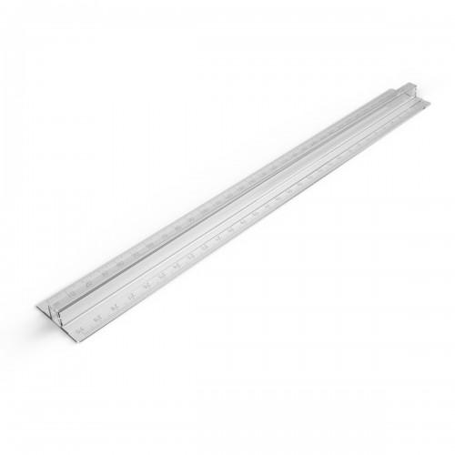 School Ruler Fingergrip 30cm [Pack 10]
