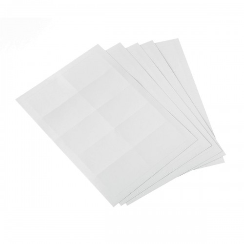 School Name Badge Blank Card Inserts 54x90mm [Pack 200]