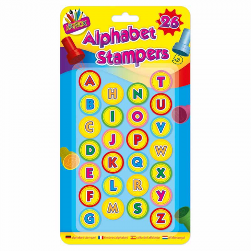 School Alphabet Stampers [Pack 26]