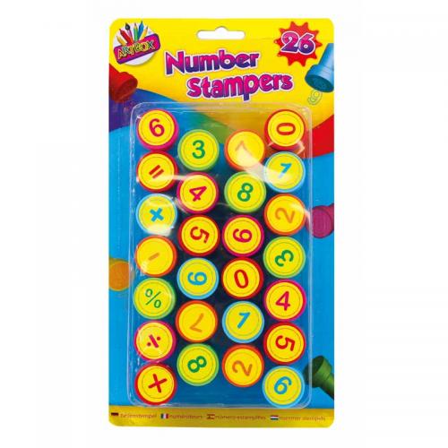 School Number Stampers [Pack 26]