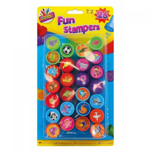 School Fun Shapes Stampers [Pack 26]