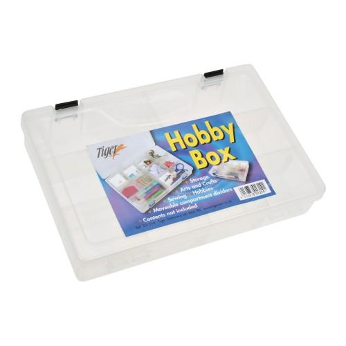 School Tuff Multipurpose Compartment Box Plastic 200mm(w) x 300mm(d) x 55mm(h) [Pack 1]