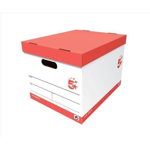School Storage Archive Box 317mm(w) x 383mm(d) x 282mm(h) [Pack 10]