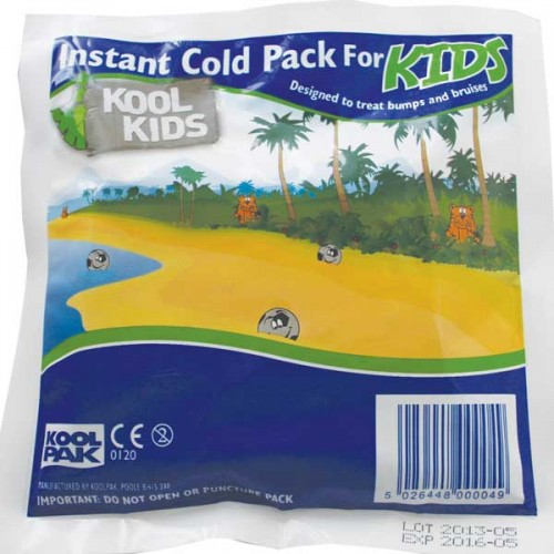School Cold Pack Instantly Activated One Time Use 150x150mm - Koolpak [Pack 1]