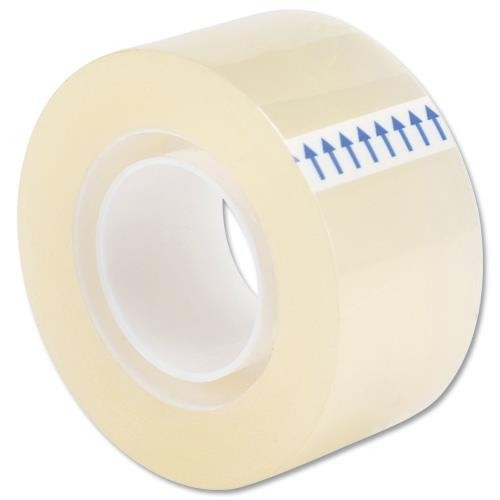School Clear Tape Small Core 25mmx33m [Pack 6]