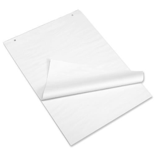 School Flipchart Pad A1 Plain [Pack 5]