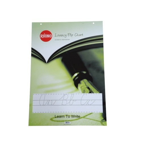 School Flipchart Pad A1 Ruled With 4 Sets of Learn to Write Guides [Pack 5]