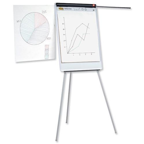 School Flipchart A1 Easel Magnetic [Pack 1]