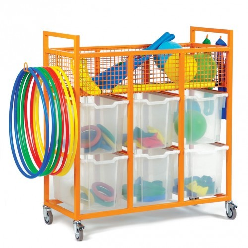 School Sports Trolley [1050mm(w) x 430mm(d) x 1148mm(h)]