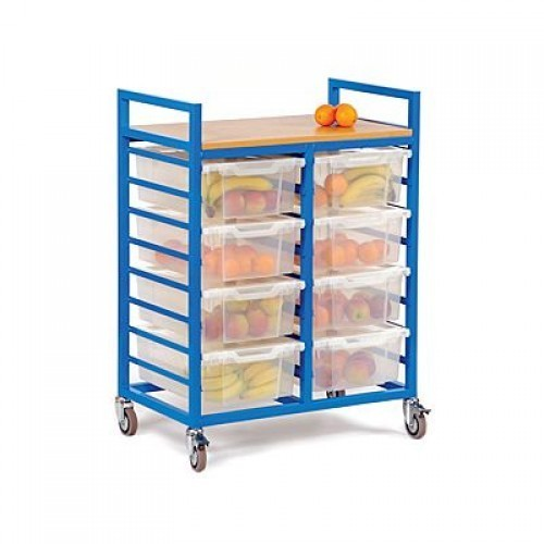 School Fruit Trolley [708mm(w) x 430mm(d) x 943mm(h)]