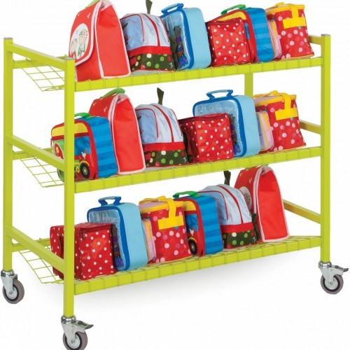 School Lunchbox Trolley Large [1025mm(w) x 500mm(d) x 900mm(h)]